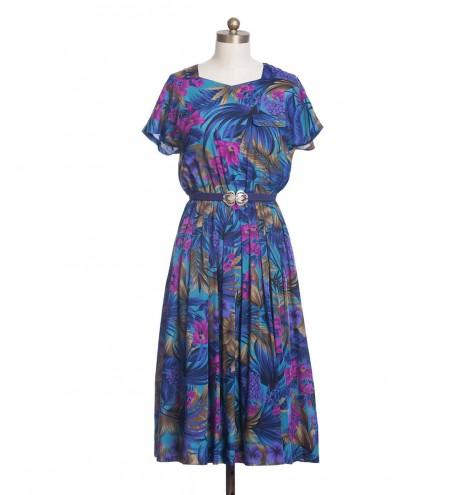 שמלת וינטג' יער טרופי