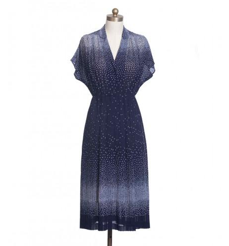 שמלת וינטג' פתיתי שלג