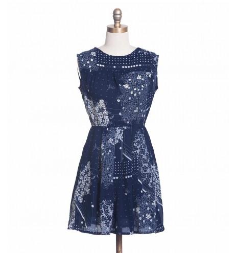 שמלת וינטג' חרסינה