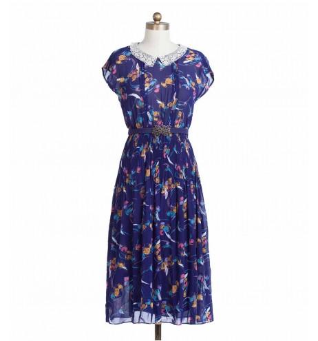 שמלת וינטג' גלידה