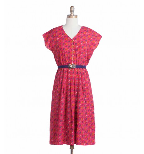 שמלת וינטג' פינק ליידי
