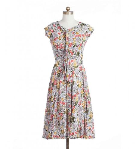 שמלת וינטג' קשירה