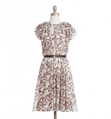 שמלת וינטג' סוואנה
