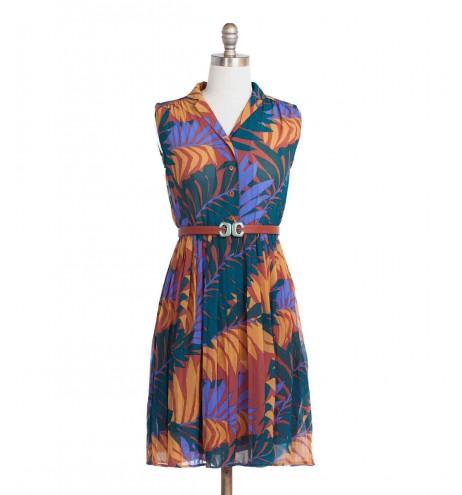 שמלת וינטג' ג'ונגל