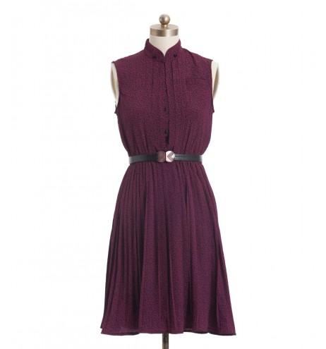 שמלת וינטג' מיץ ענבים
