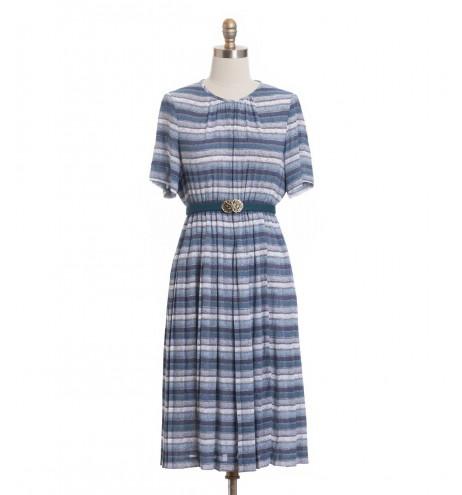 שמלת וינטג' חוף