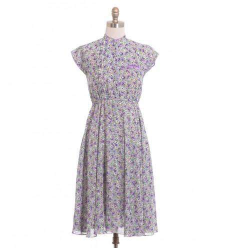 שמלת וינטג' מלבלבת