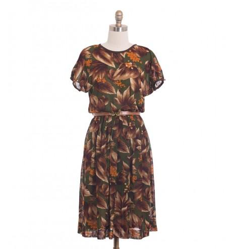שמלת וינטג' גפן