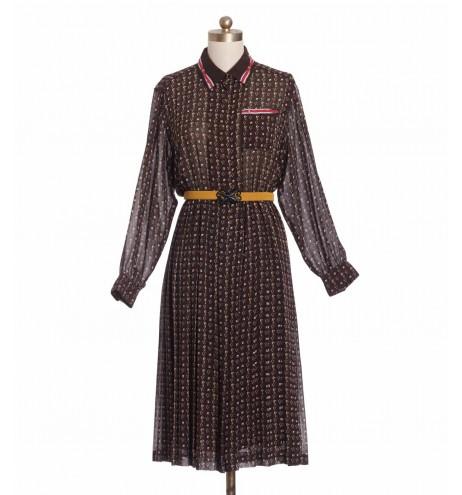 שמלת וינטג' פרשים