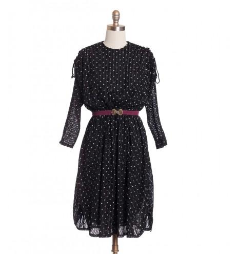 שמלת וינטג' אייטיז