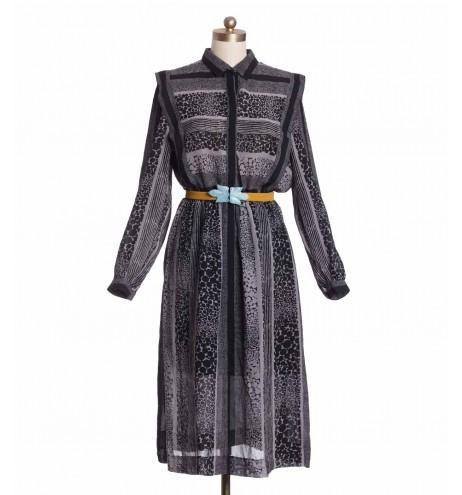 שמלת וינטג' בועות