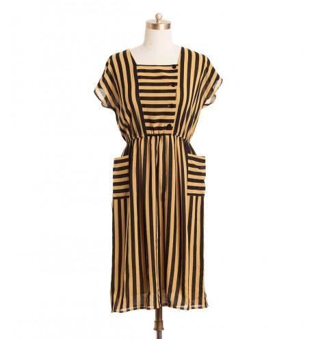 שמלת וינטג' דבורה