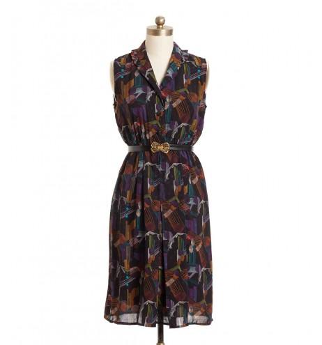 שמלת וינטג' דרלה