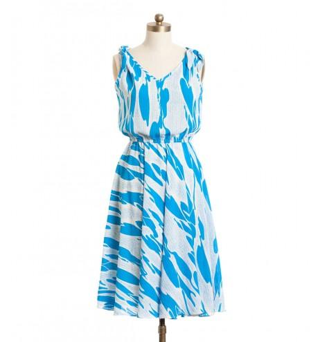 שמלת וינטג' בריכה