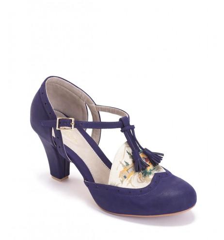 נעלי בסי כחול אלקטרי