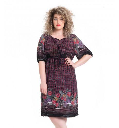 שמלת וינטג' לין