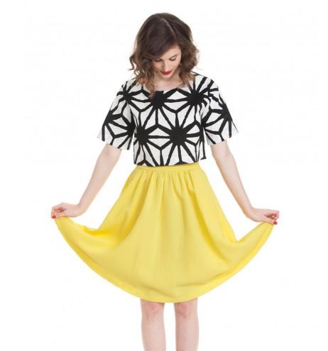 חצאית גאנה צהוב