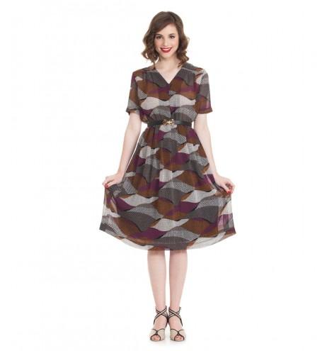 שמלת וינטג' רג'ינה