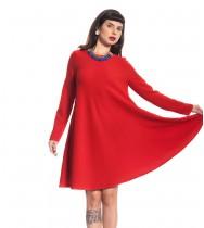 שמלת רותם אדומה
