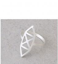 טבעת איקס כסף
