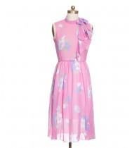 שמלת וינטג' מסמיקה