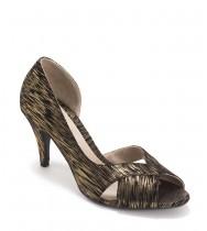 נעלי סרינה שחור זהב