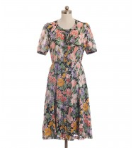 שמלת וינטג' היביסקוס