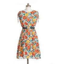 שמלת וינטג' אביבית