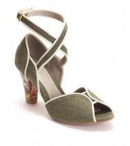 נעלי דוריאן קש ירוק