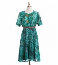 שמלת וינטג' יער גשם