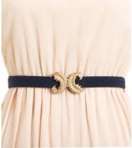 חגורת וינטג' עלי זהב