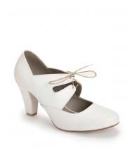 נעלי כלה אדלה לבן