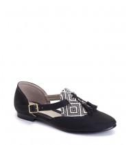 נעלי אגנס שחור