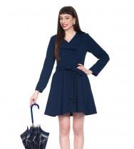 מעיל מיאו כחול