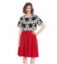 חצאית גאנה אדום